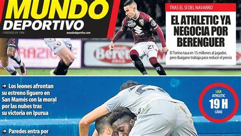 Athletic de Bilbao: Esta es la portada de la Edición ...