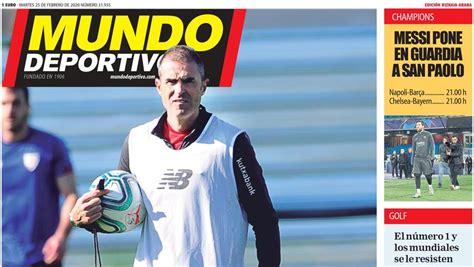 Athletic: Esta es la portada de hoy de la Edición Bizkaia ...