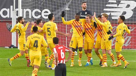 Athletico de Bilbao – Barcelona: Resultado, goles y ...