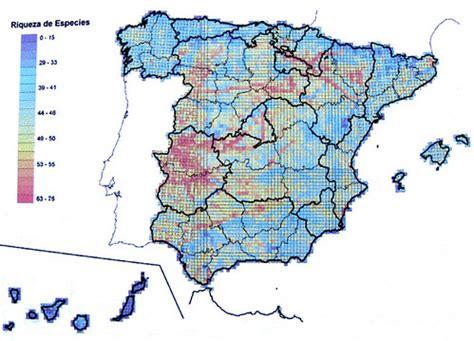 Atlas de aves invernantes de España. Riqueza de especies ...