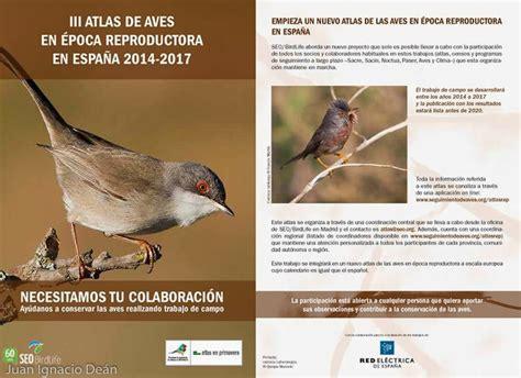 Atlas de Aves Reproductoras SEO   Sociedad de Ciencias ...