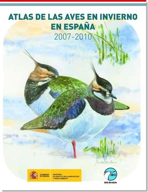 Atlas de las aves en invierno en España   todoaves