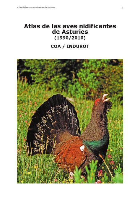 Atlas de las Aves NIdificantes de Asturies by David ...