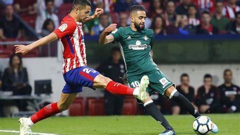 Atlético de Madrid   Betis: La Liga Santander de fútbol ...