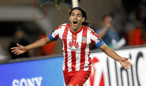 Atlético de Madrid: El Tigre, Radamel Falcao, vuelve a ...