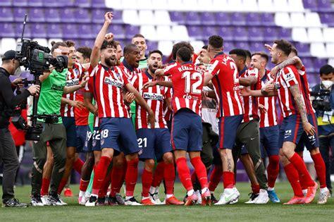 Atlético de Madrid se proclama campeón de la liga de ...