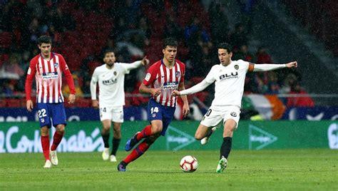 Atlético de Madrid   Valencia: La Liga de fútbol, en ...