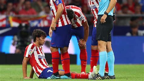 Atlético / Joao Félix se marchó lesionado