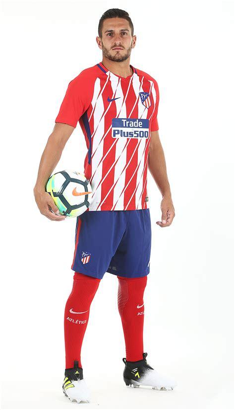 Atletico Madrid 17/18 Nike Home Kit   17/18 Kits ...