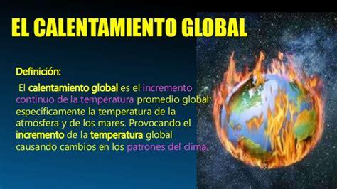 Atmósfera: Cambio Climático