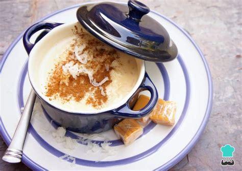 Atole de arroz   ¡Con leche evaporada y condensada!