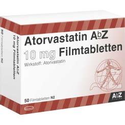 ATORVASTATIN AbZ 10 mg Filmtabletten   shop apotheke.com