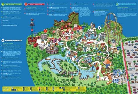 Atracciones En La Mapa