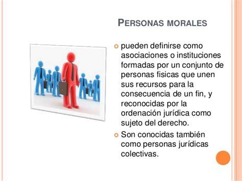 Atributos de las personas  física y moral