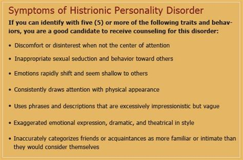 attention seeking behavior in adults | Histrionic ...