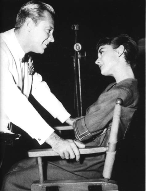 Audrey and co star William Holden   Classic Hollywood Central