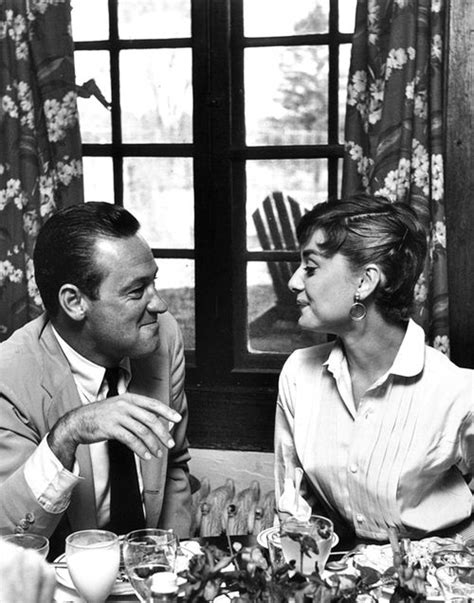 Audrey Hepburn and William Holden, 1953. They had an ...