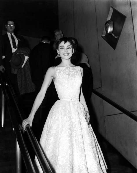 Audrey Hepburn Wearing Givenchy at the 1954 Oscars | Emma ...