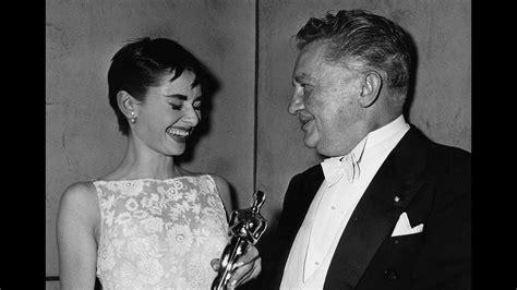 Audrey Hepburn Wins Best Actress: 1954 Oscars   YouTube