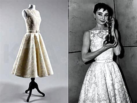 Audrey Hepburn's dress from 1954 'Roman Holiday' Oscar win ...
