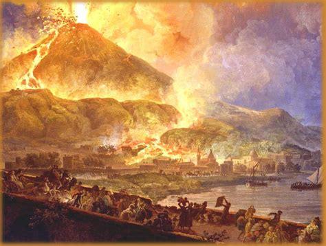August 24, 79 AD, Mt. Vesuvius erupted, burying Pompeii ...
