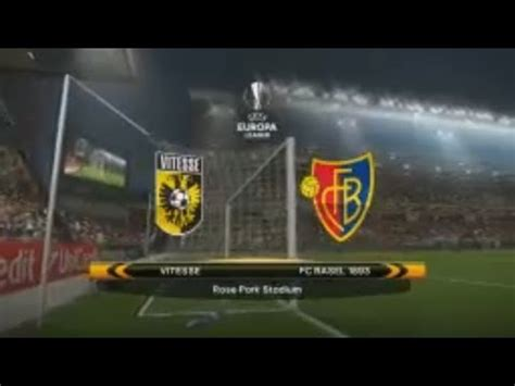 August 9 2018,Europa L  Qualification Vitesse   Basel ...