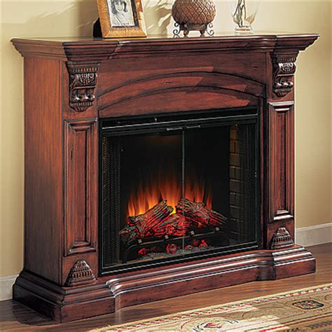 Augusta Electric Fireplace Cabinet Mantel Package   33WM280AMH