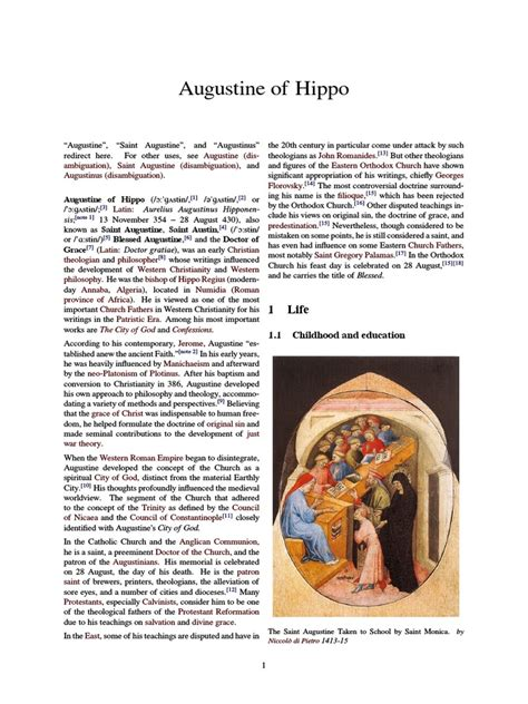 Augustine of Hippo.pdf | Augustine Of Hippo | Original Sin