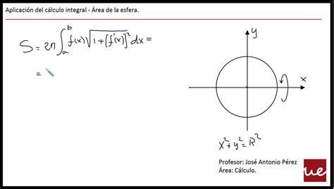 Aula UE   Cómo se calcula el área de una esfera   YouTube