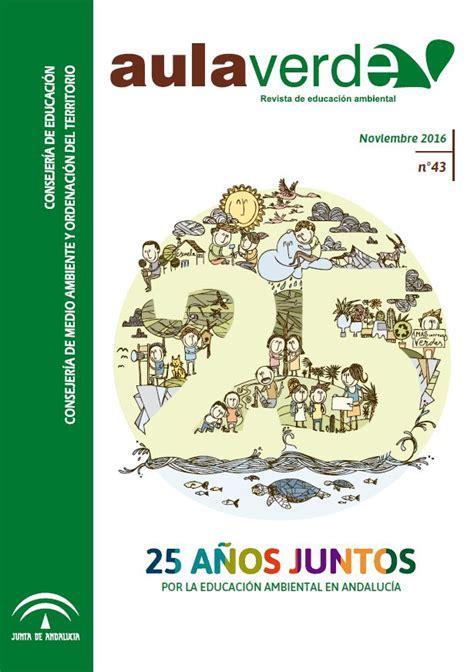 :: Aula Verde Nº 43. 25 Años de Aldea. Noviembre 2016 ...