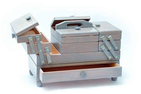 Aumuller Korbware AUMUL   Costurero de madera de haya ...