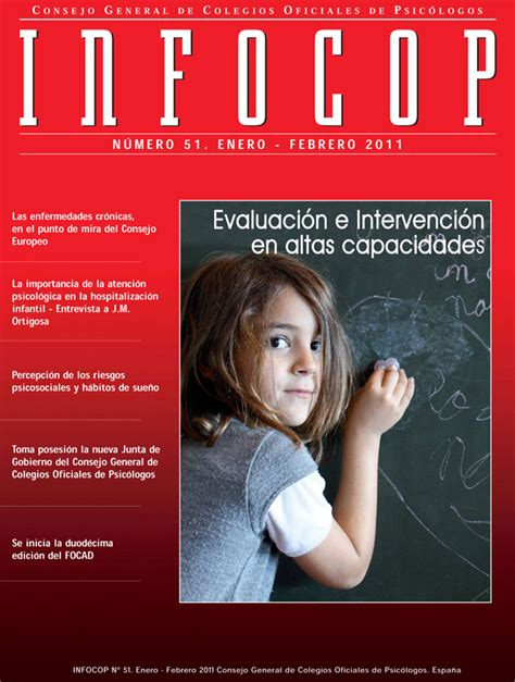 Aupatuz: INFOCOP. Revista de psicología. Nº 51 ...