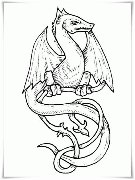 Ausmalbilder zum Ausdrucken: Ausmalbilder Drachen