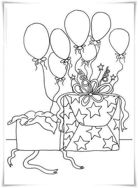 Ausmalbilder zum Ausdrucken: Ausmalbilder Geburtstag