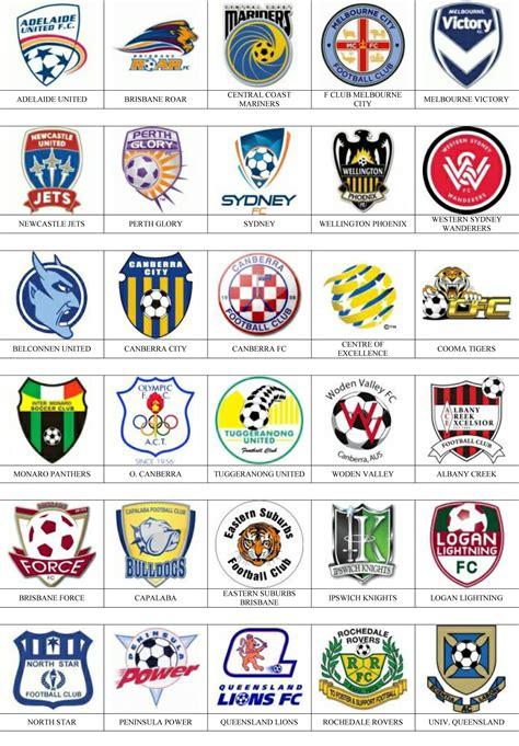 Australia   Pins de escudos/insiginas de equipos de fútbol.