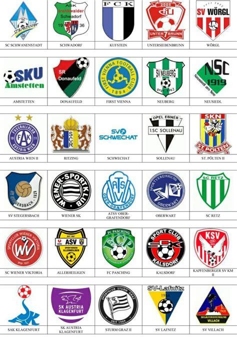 Austria   Pins de escudos/insiginas de equipos de fútbol.