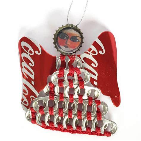 Authentic Coca Cola Coke UPAVIM Large Pull Tab Angel ...