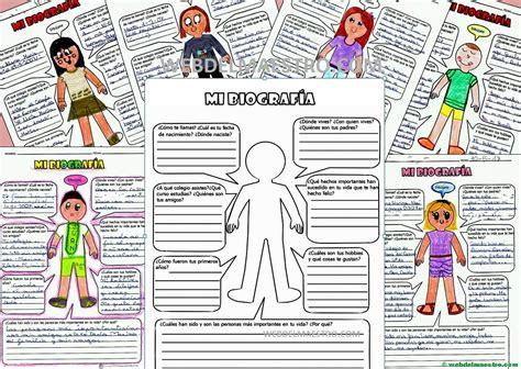Autobiografía para niños de Primaria   Web del maestro