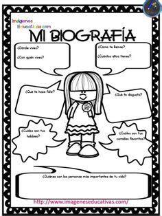 Autobiografía para niños Primaria y Primer Grado ...