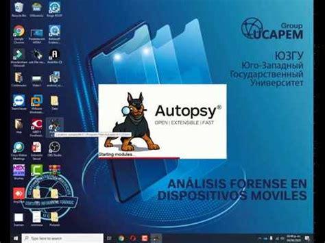 Autopsy Windows   Forensia Informática   Tutorial   YouTube