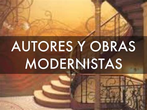 AUTORES Y OBRAS MODERNISTAS by vrolo99