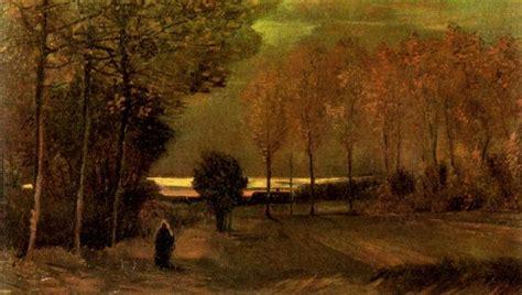 Autumn Landscape at Dusk, 1885   Vincent van Gogh ...