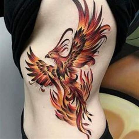 Ave Fenix en Tatuajes  Ideas Originales y Significados