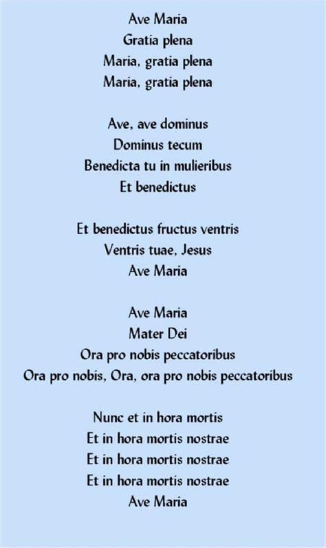 Ave Maria Gratia plena Maria, gratia plena Maria, gratia ...