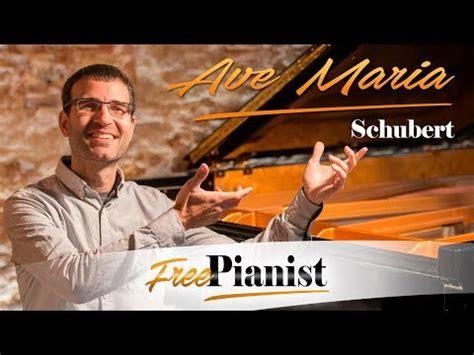 AVE MARIA   SCHUBERT   karaoke / piano accompaniment   C ...