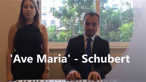 Ave Maria Schubert   Ramona Galea Wedding Mass Singer ...