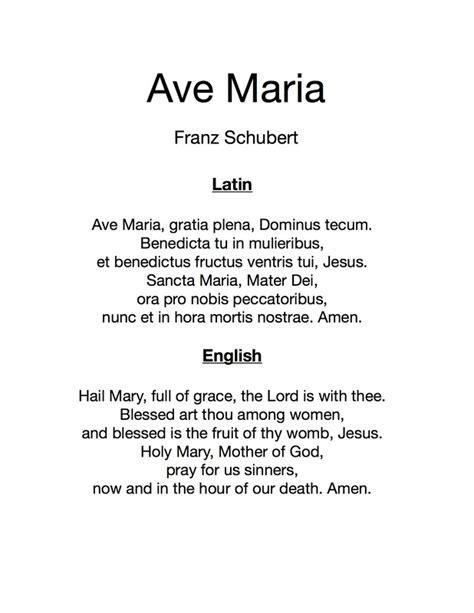 Ave Maria  Schubert    The Accompaniment Company Piano ...