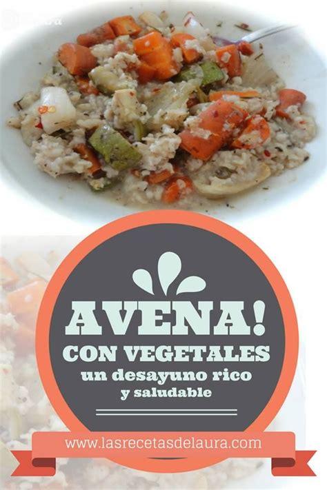Avena con verduras | Receta | Recetas saludables, Verduras ...