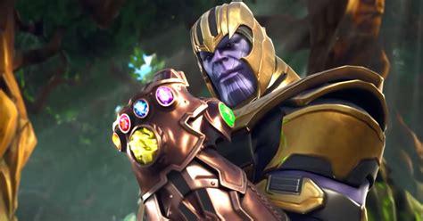 Avenger: Infinity War: Thanos arrives in Fornite teaser ...