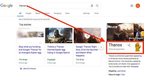 Avengers: Endgame villain, Thanos snaps fingers, Google ...